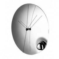 Bugatti Bugatti Wall Clock Stainlles Steel Acqua-20