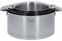 Cristel Cristel STRATE REMOVABLE Set 4 Saucepans 14-20cm-20