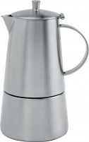 Cristel Cristel COMPLEMENTS Milano Brushed Finish Stainless Steel Coffee Pot 6 or 10 Cups-20