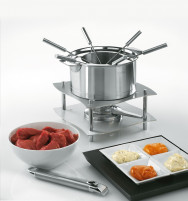 Cristel Cristel STRATE REMOVABLE Fondue Set with Sauce Pan 16cm-20