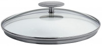 Cristel Cristel Set of 4 Glass Lids Platine 14-20 cm-20