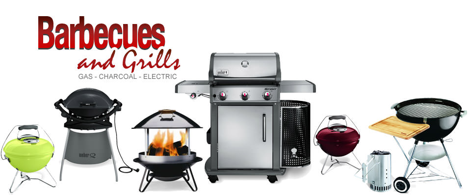 Gas Barbecues, Charcoal Barbecues, Electric Barbecues