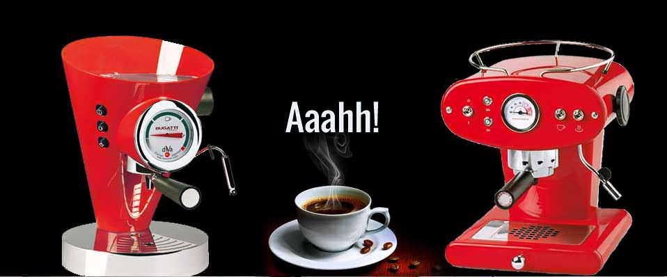 Coffee Machines, Tea, Casa Bugatti