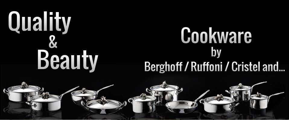 Cookware, Berghoff, Kitchens, Ruffoni, Cristel, Saucepans, Stockpots